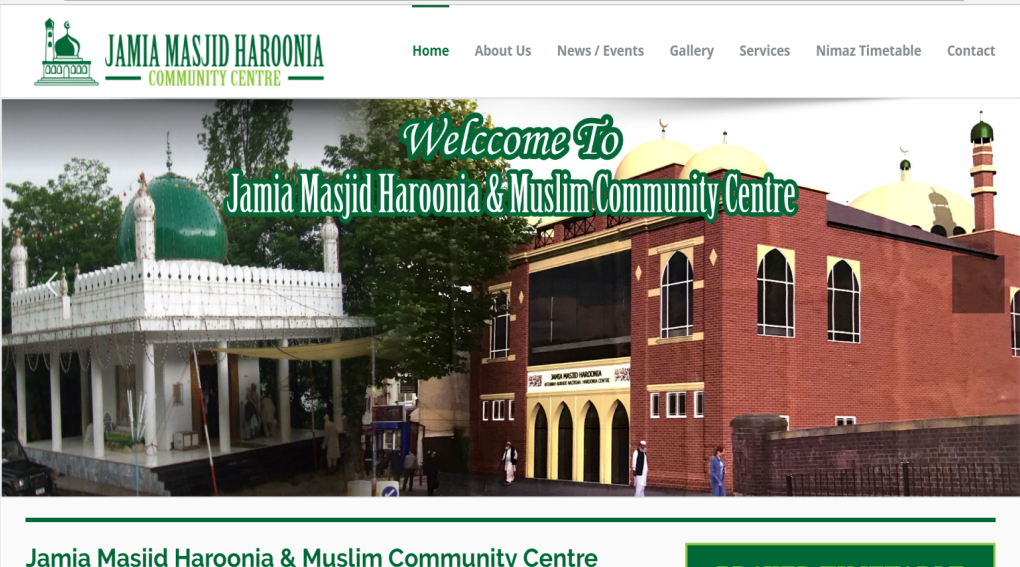 Haroonia Mosque - Alum Rock